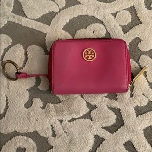 Tory Burch card holder and key chain